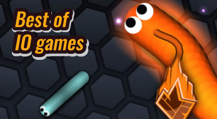 Slither.io is an epic, free online 2D survival, IO game, multiplayer game you can play with friends, on MM