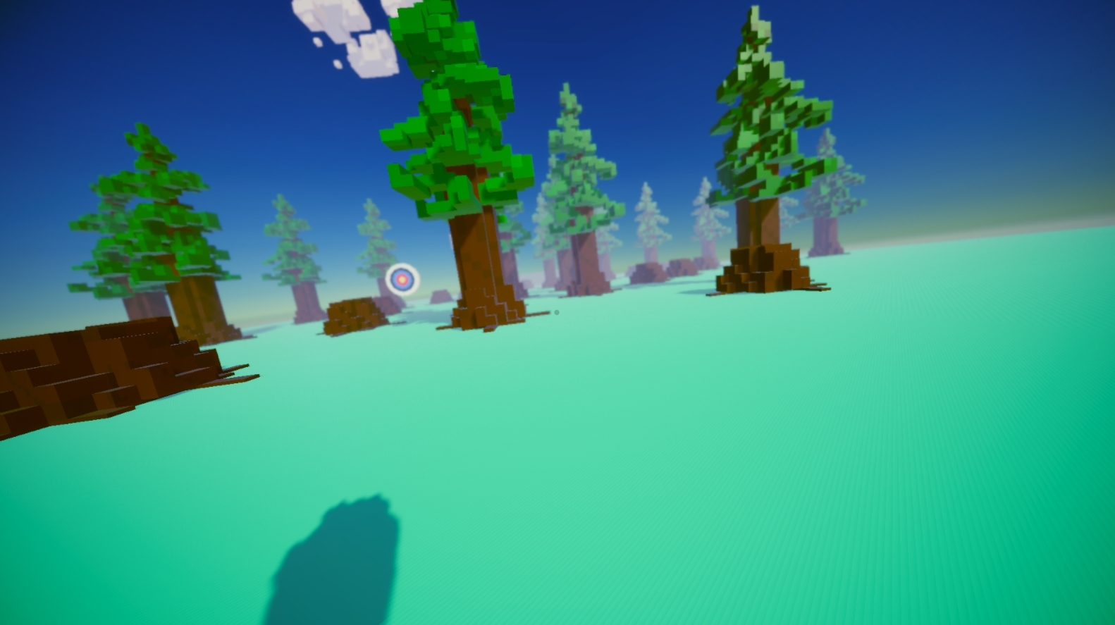 Post Processing of Precision, An Archery Game.